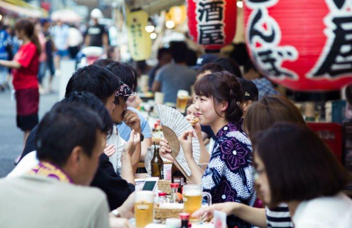 Happy Hour e adesão a Premium Friday no Japão