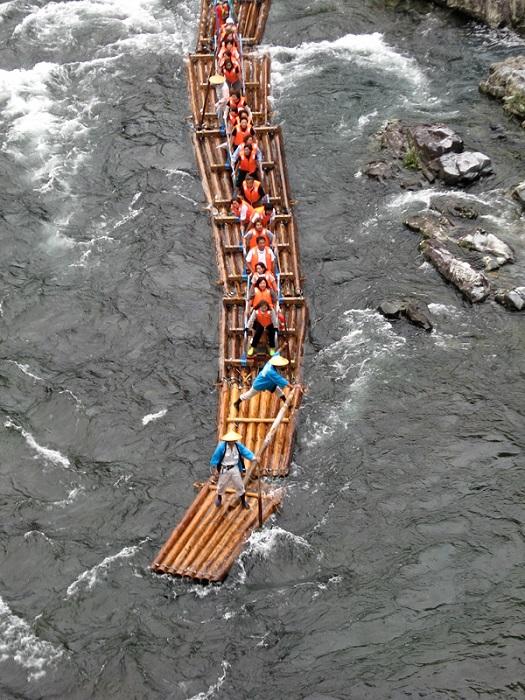 Rafting jangada japonesa