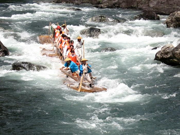 Rafting Japão