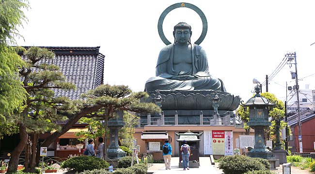 Estátua de Buda em Toyama no Japão