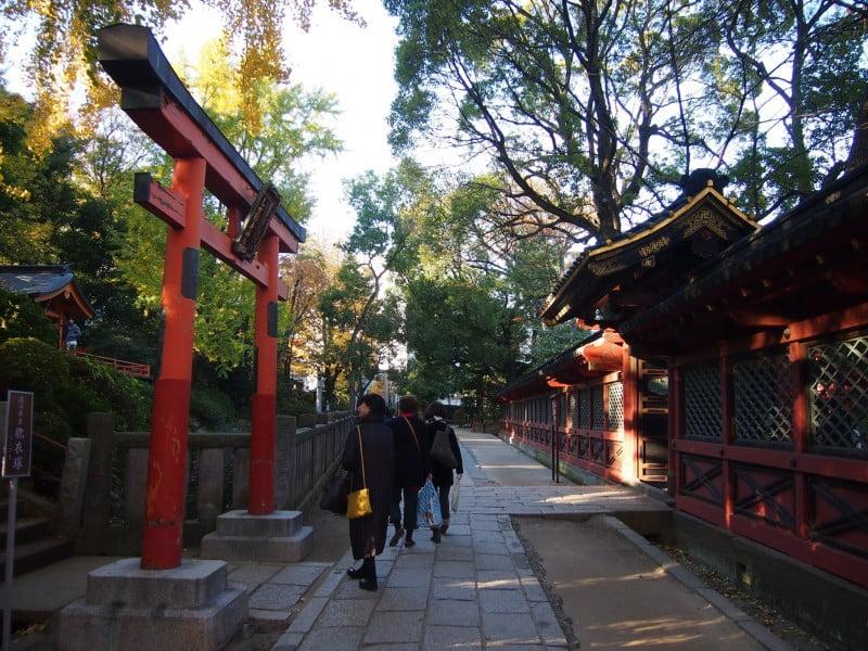 templo nezu jinja