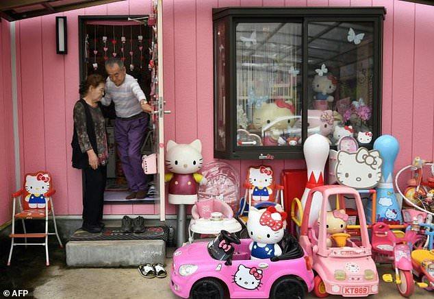 Casa Hello Kitty de Masao Gunji, no Japão