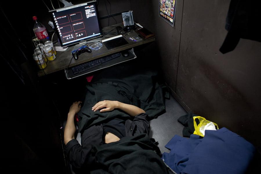 Cyber-homeless