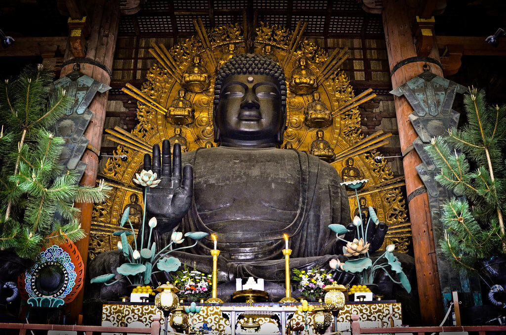 Estátua de Buda em Nara