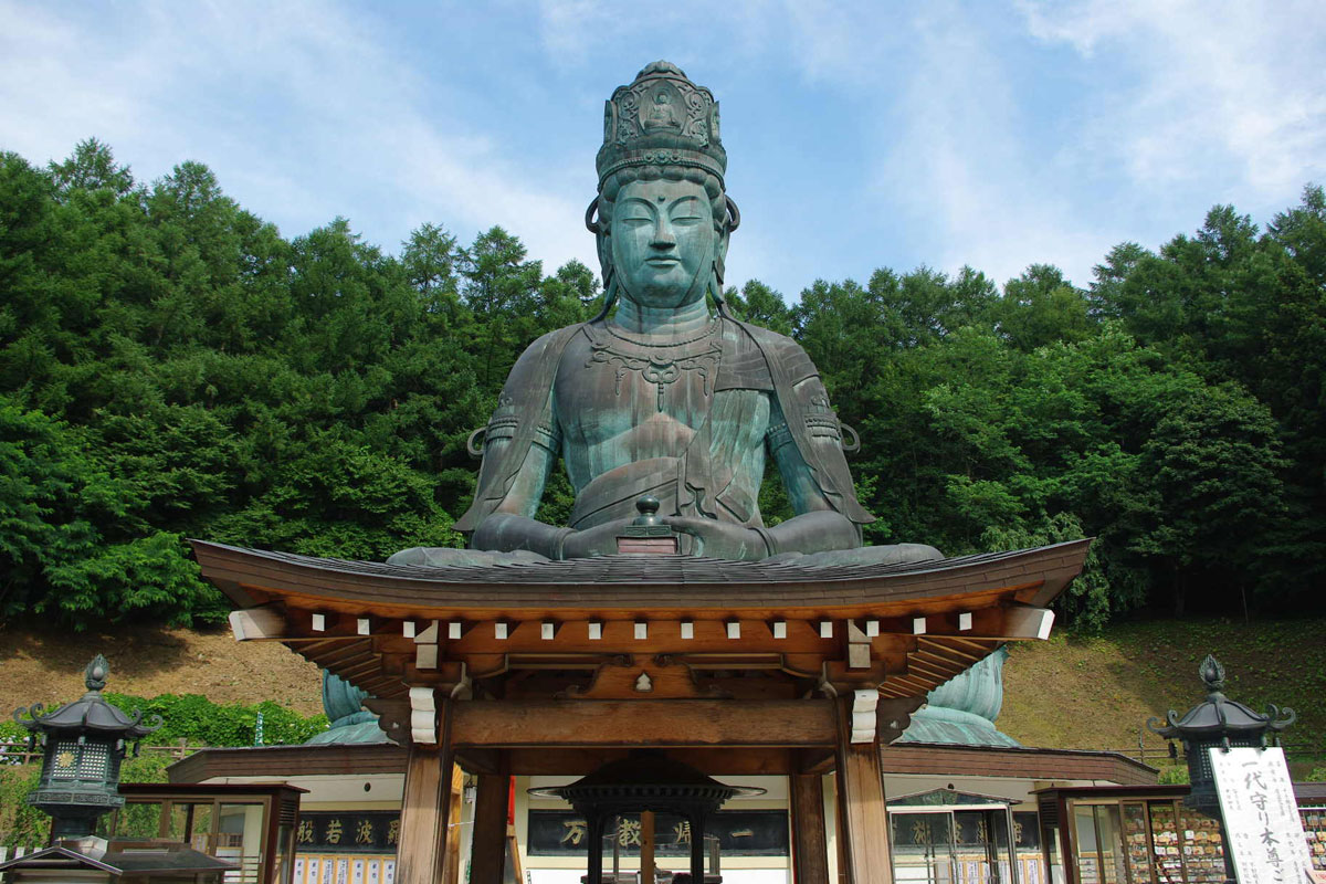 Estátua de Buda em Aomori