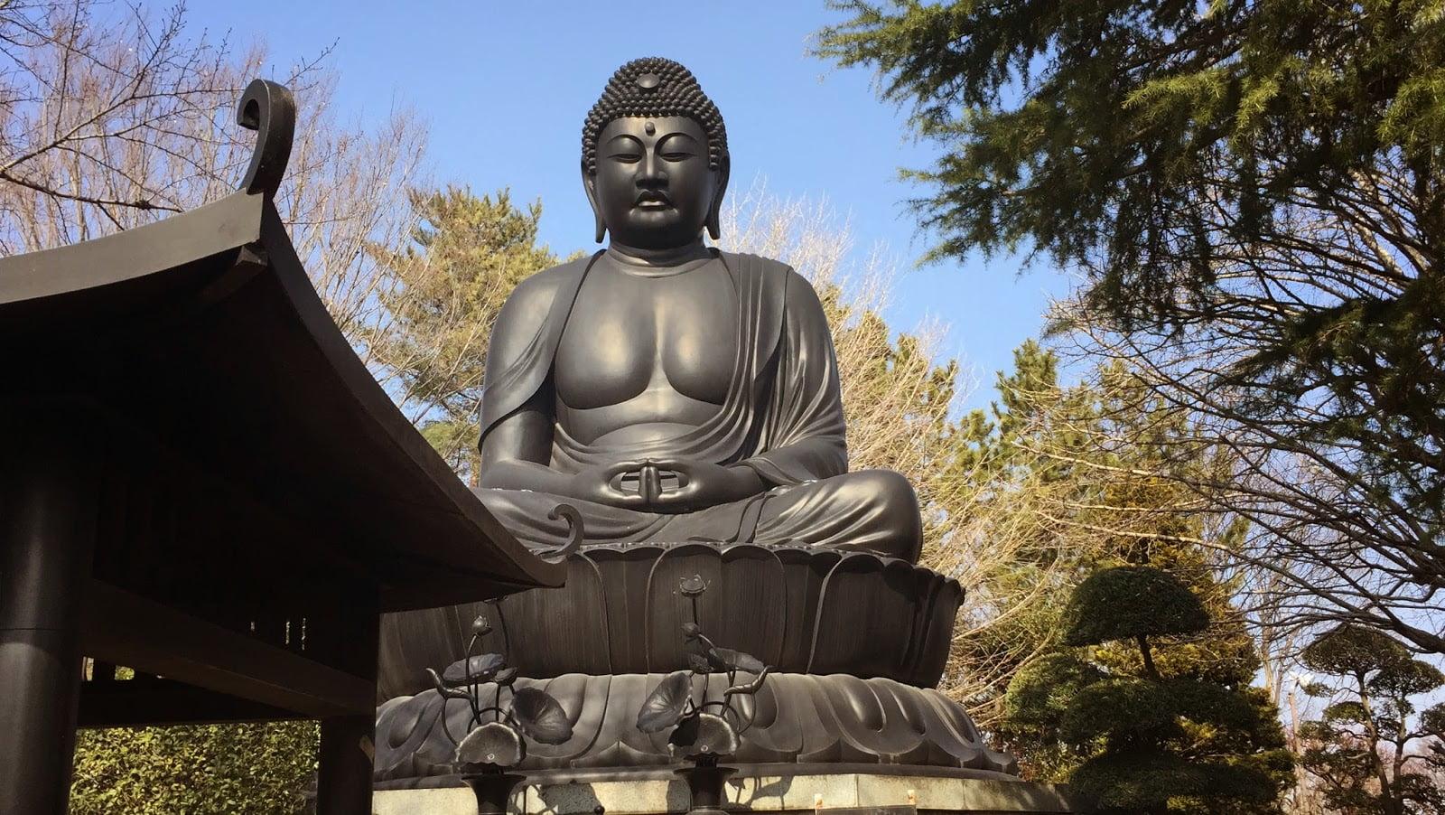 Estátua de Buda em Tóquio