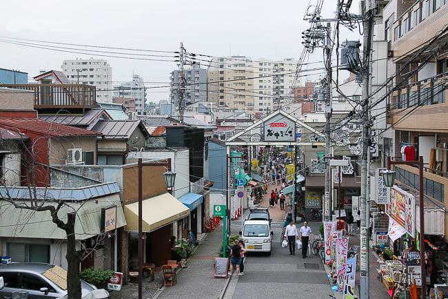 bairro yanaka