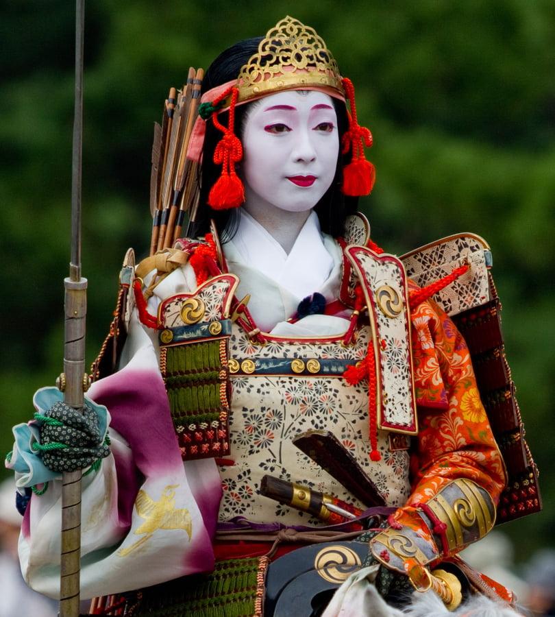 Armas de mulheres samurais