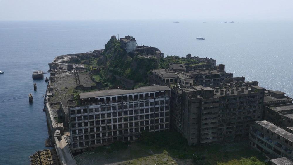 Gunkanjima ilha
