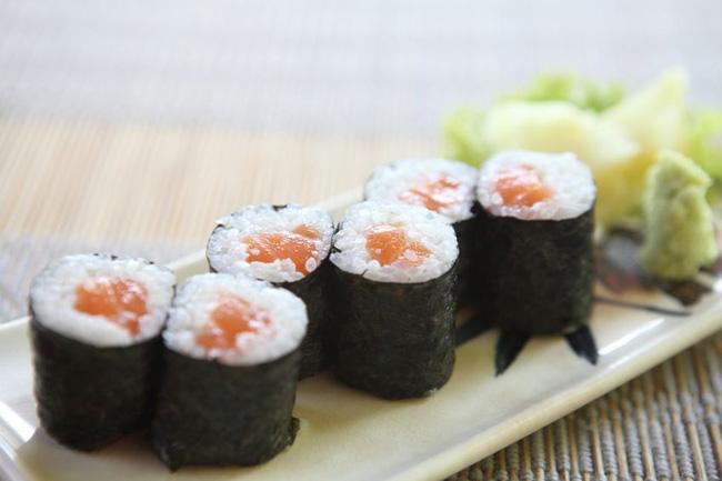 hosomaki de salmão