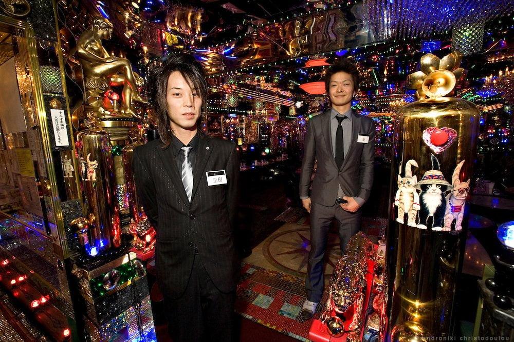 Clube hostess em Tóquio
