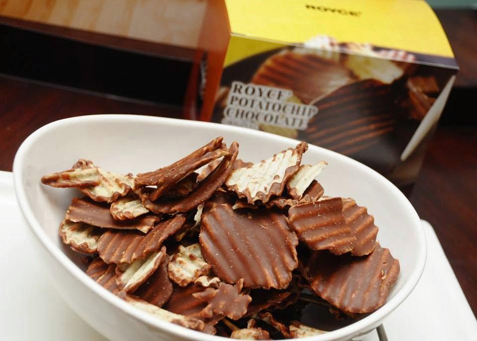 Batata com chocolate Japão