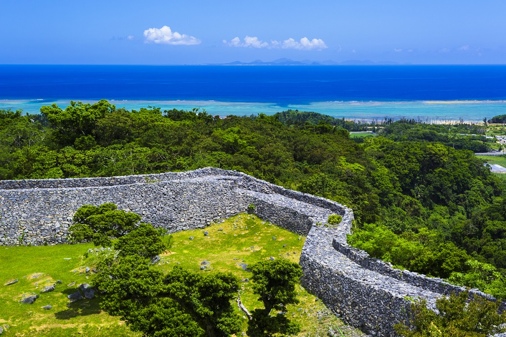 Nakajin Castle Ruins