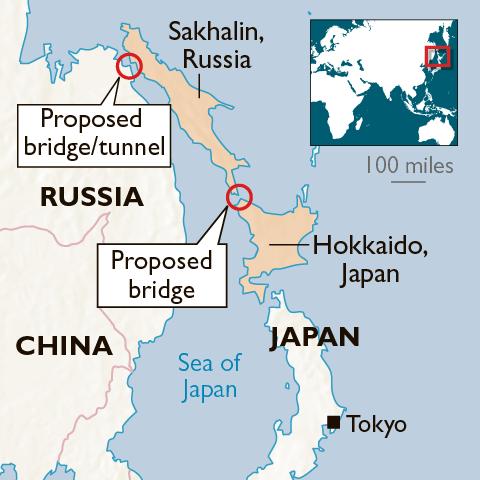 Hokkaido e Sakhalin