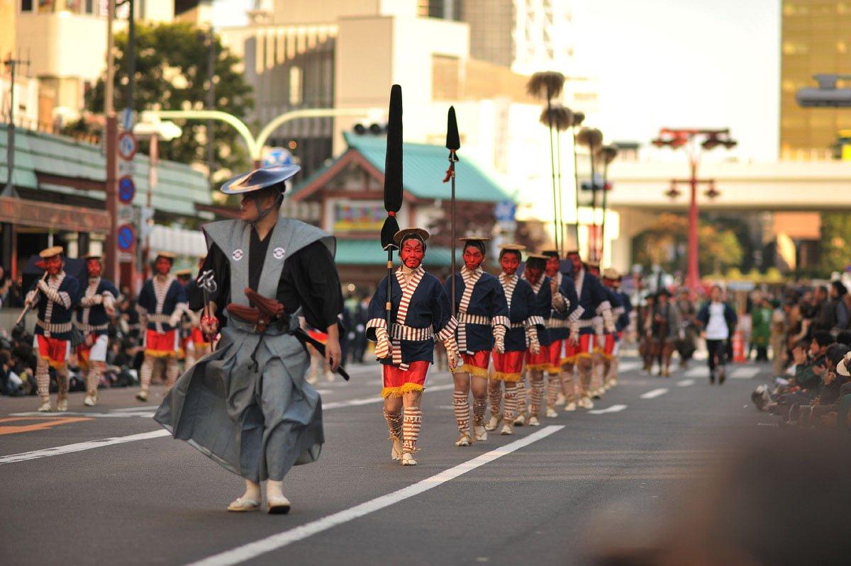 Jidai Matsuri Japão