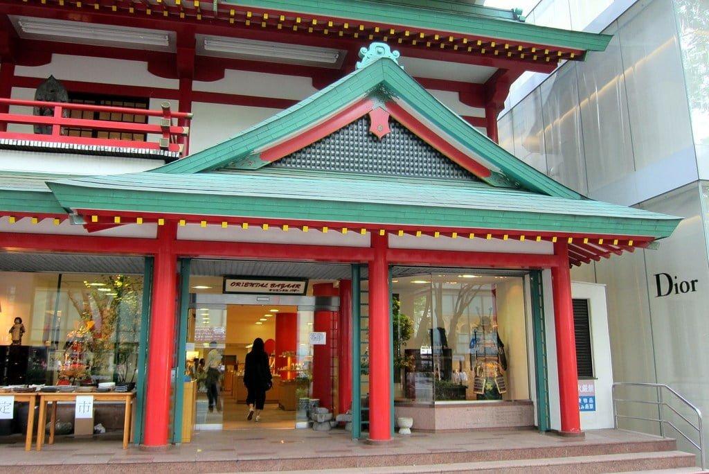 Loja oriental Bazaar