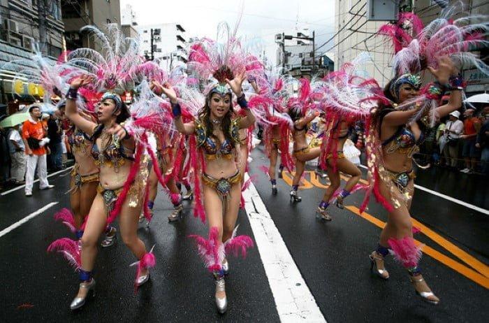 Carnaval em Okinawa