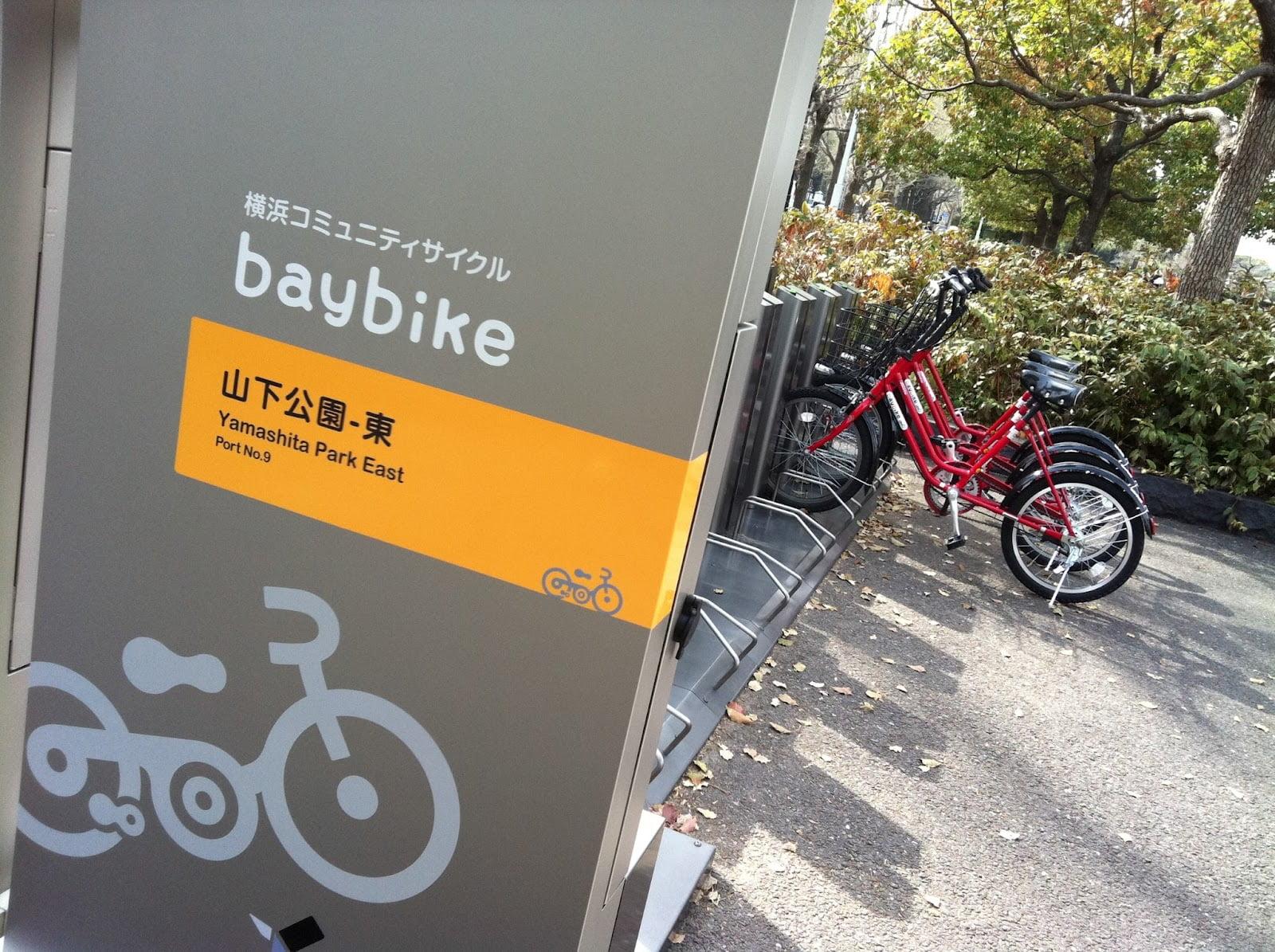 Aluguel de bicicleta Japão