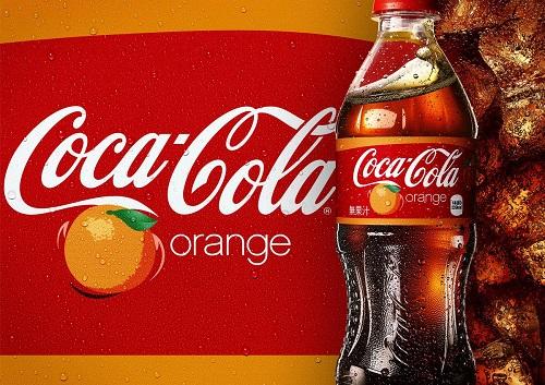 Coca orange