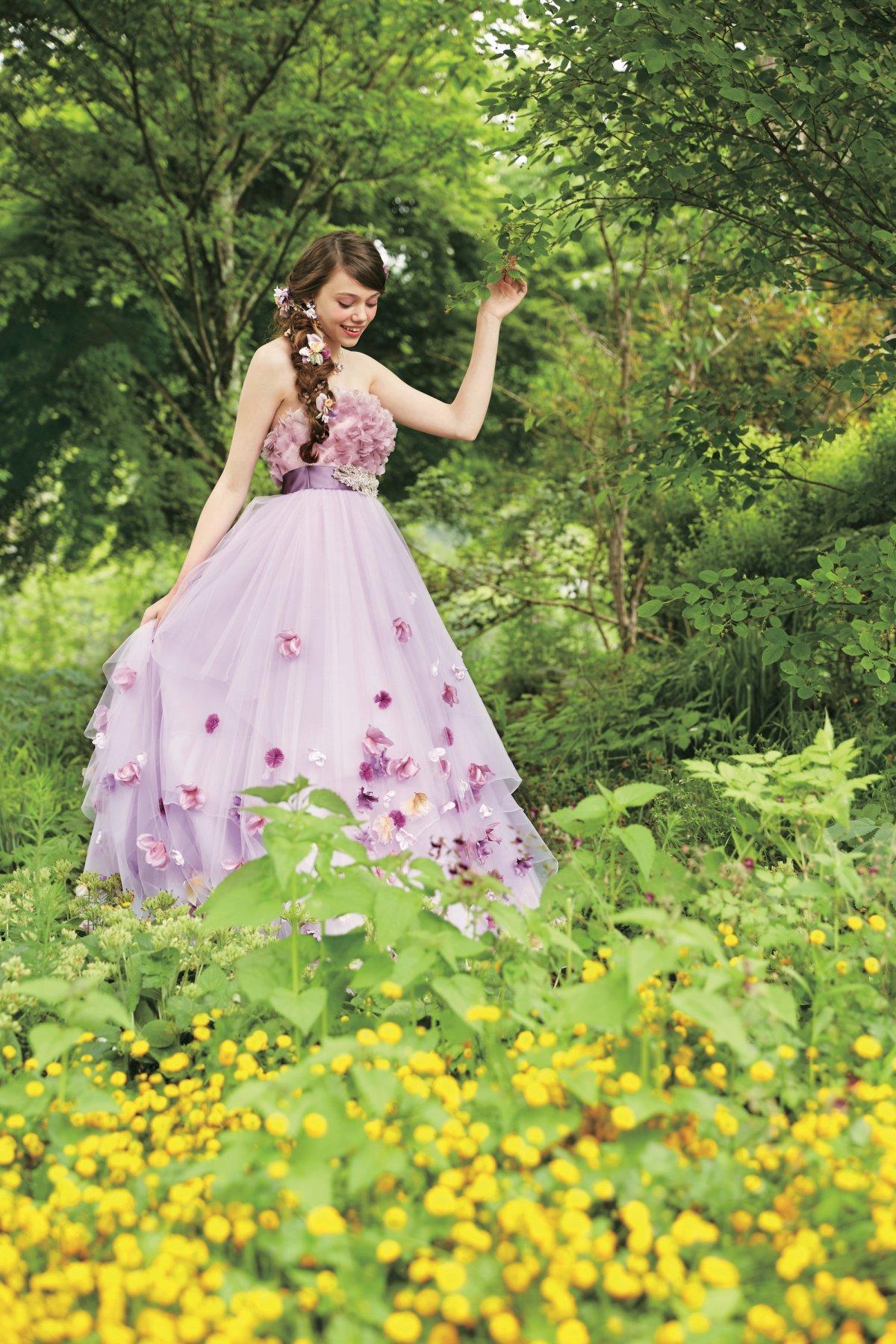 vestido de noiva Rapunzel Japão