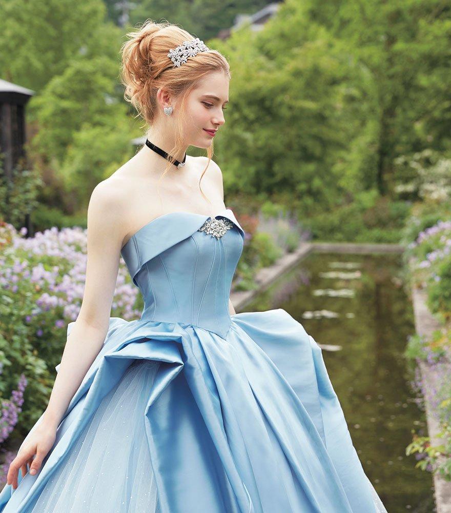 vestido de noiva Cinderella Japão