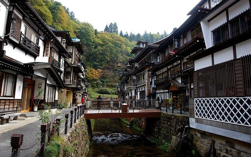 Yamagata - Ginzan Onsen