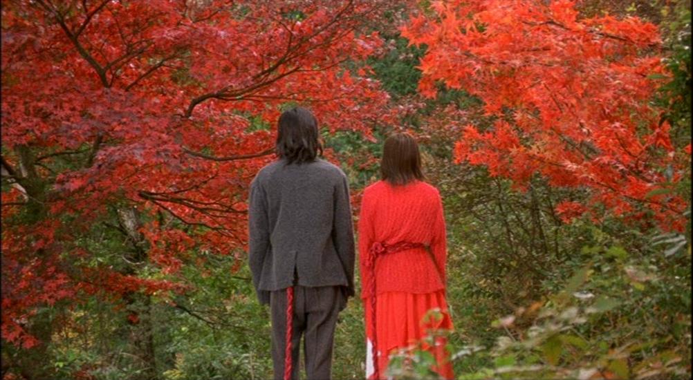 lenda do fio vermelho do destino-casal
