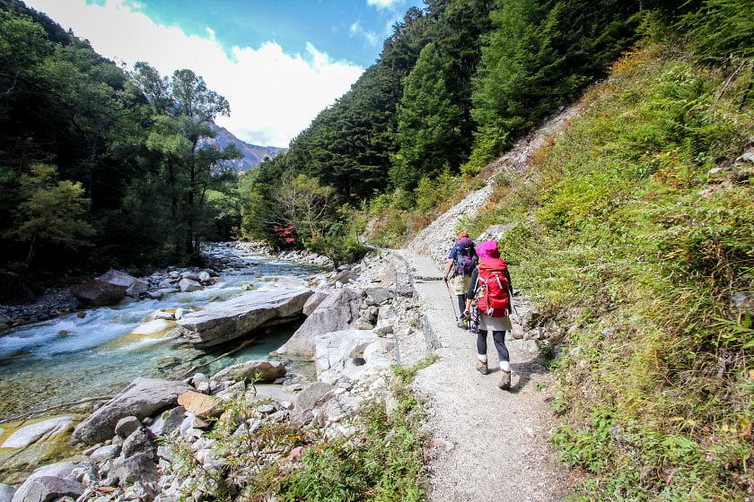 trilha kamikochi-yari-hotaka alpes japoneses
