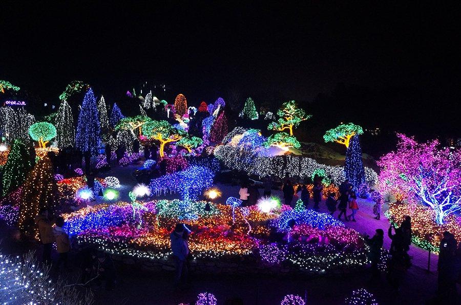 inverno Japão festivais de luz