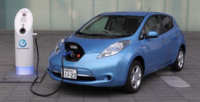 carro elétrico Nissan Leaf Japão