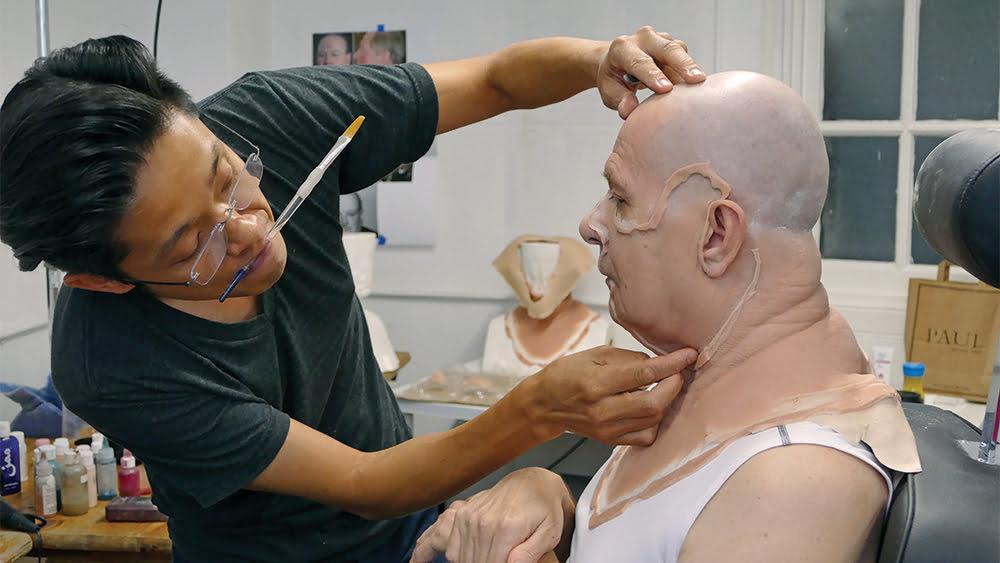 Kazuhiro Tsuji trabalha em Gary Oldman