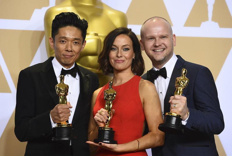 Kazuhiro Tsuji ganha Oscar 2018