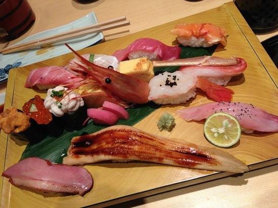 Umegaoka Sushi No Midori Sohonten