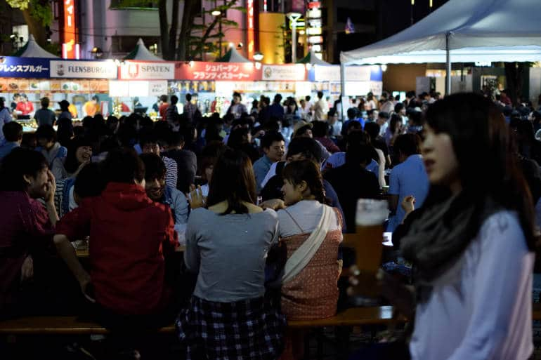 Festival de cerveja Tohoku Jibiiru