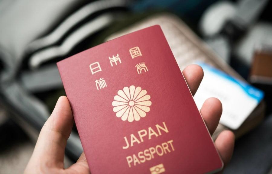 Passaporte Japão