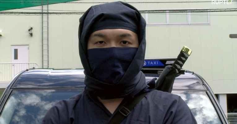 motorista ninja no Japão