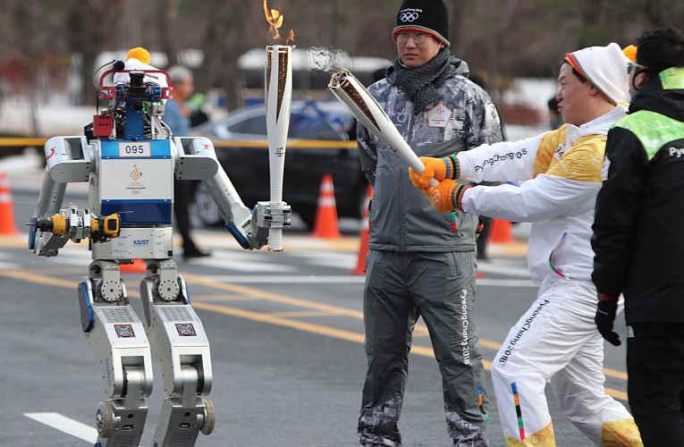robô tocha Japão