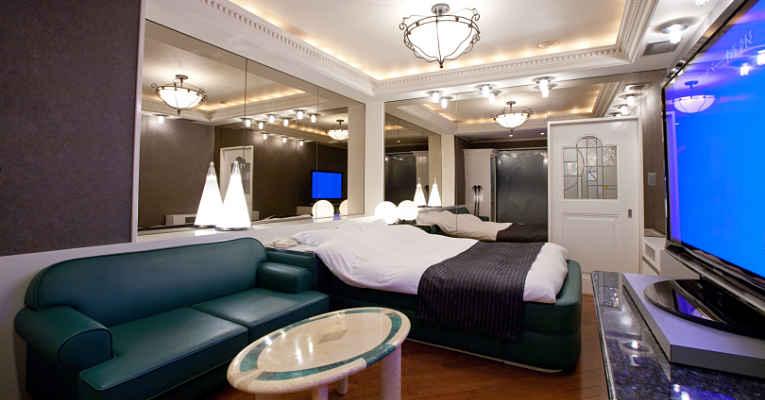 quarto de love hotel Japão