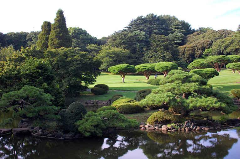 Parque Shinuku Gyoen