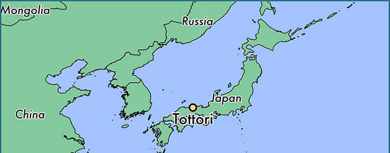 mapa tottori