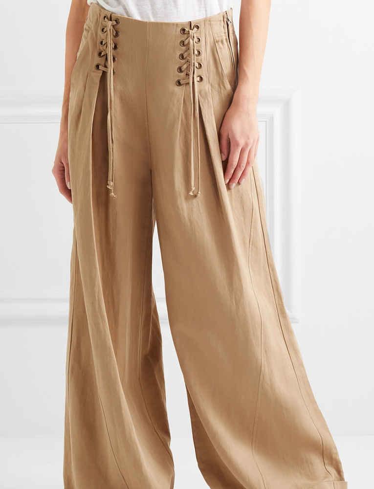 calça oversized