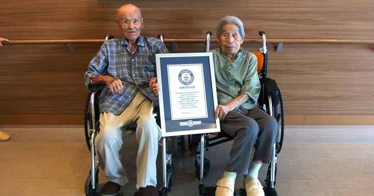 casal juntos há 80 anos