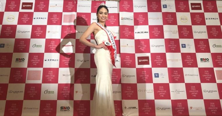 Miss Universo Japão 2018
