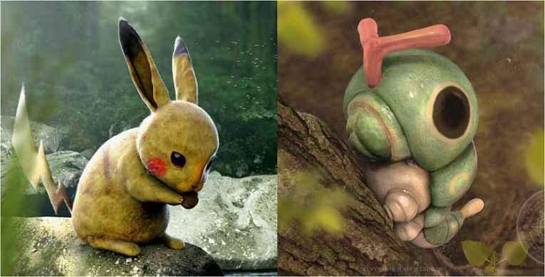 Pokemons por R Palmer