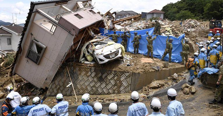 desastre no Japão