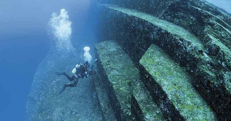 As ruínas de Yonaguni podem ser a construção mais antiga da história mundial.