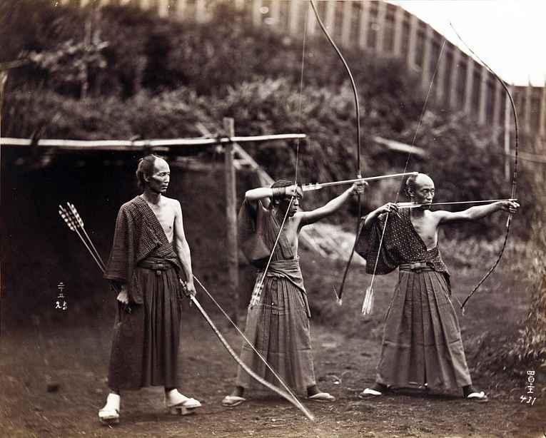 Kyudo - arco e flexa no Japão