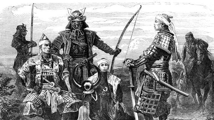 Samurais Japão