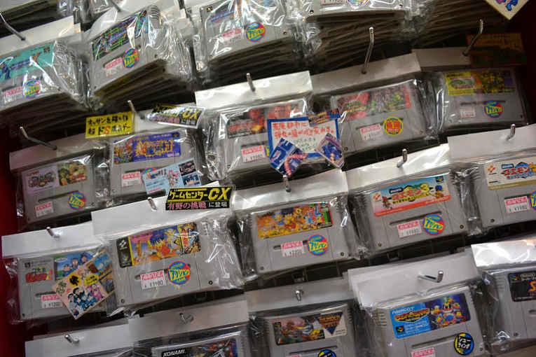 Jogos Nintendo em Akihabara