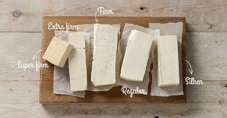 Tipos de tofu momen